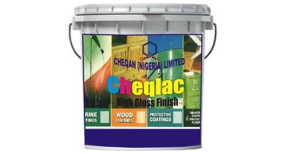 Cheqlac High gloss finish